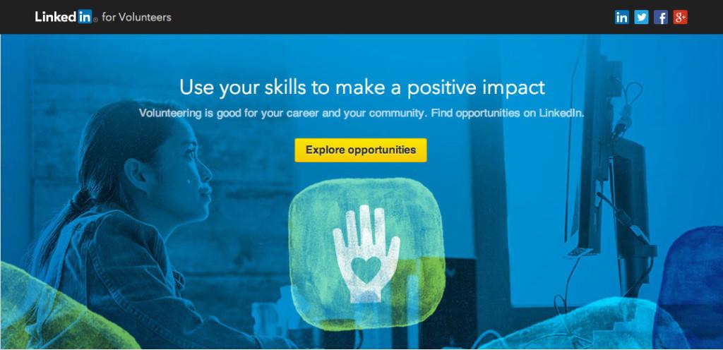LinkedIn Volunteer