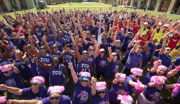 TCU frogs for a cure