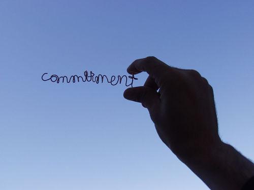 comittment