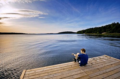 summertime lake