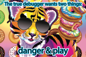 Sunglasses Tiger Debugger 3.3x5