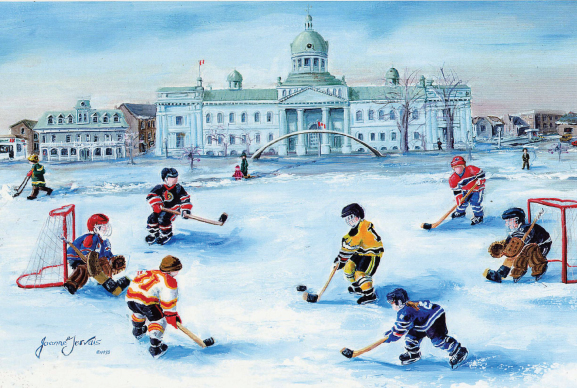 christmas-greeting-card-waterfront-scrimmage-by-joanne-gervais.jpg