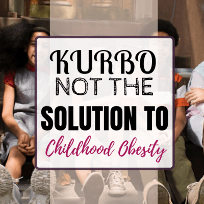 Kurbo: Not The Solution To Childhood Obesity