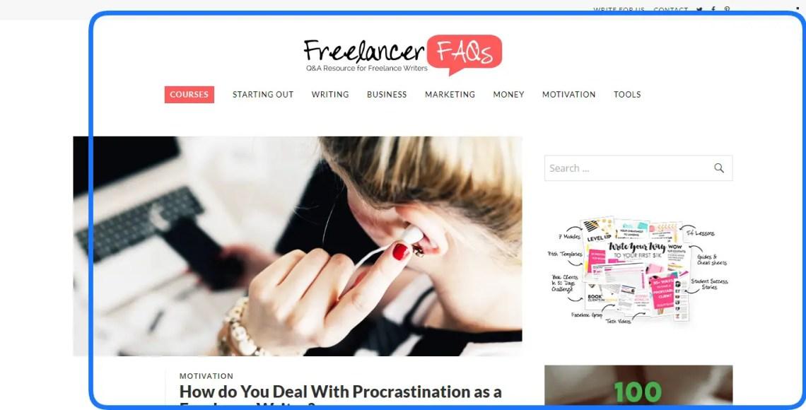 Best website for freelance writers. Freelancer FAQs