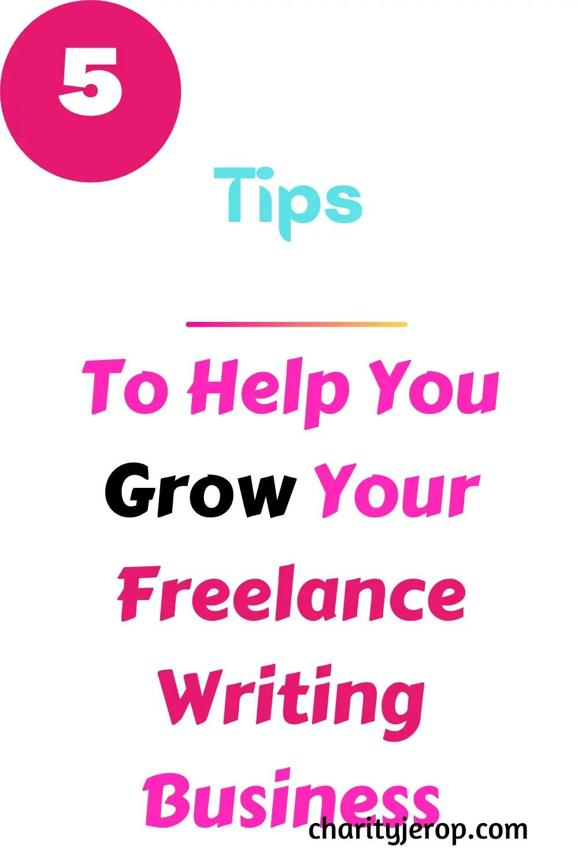 How to grow your freelance writing career