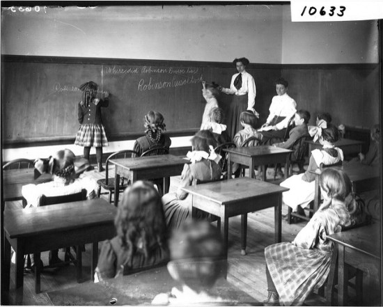 old school room