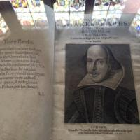 In the Library at Charlecote... Shakespeare's Second Folio