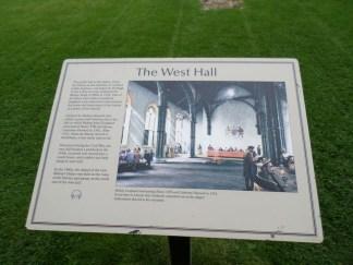 artist rendition - West Hall