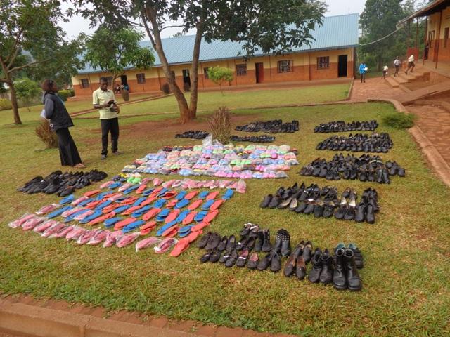 Shoes for children at Hidden Treasure
