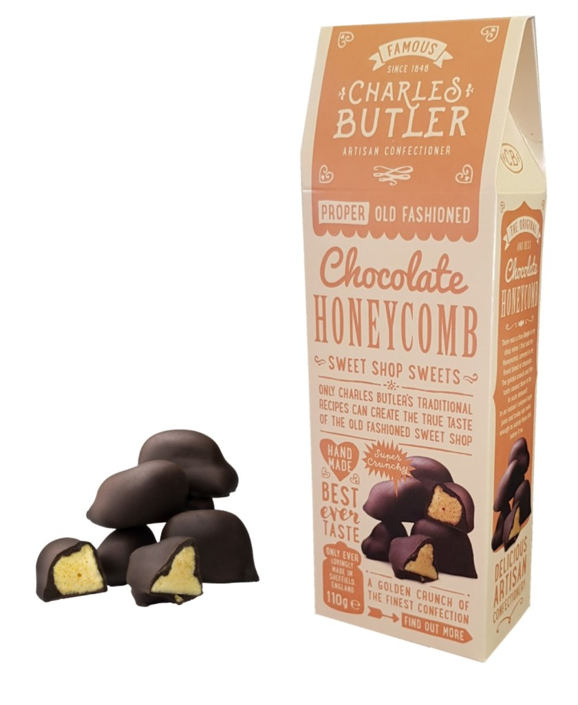 Charles Butler Chocolate Honeycomb Box with product