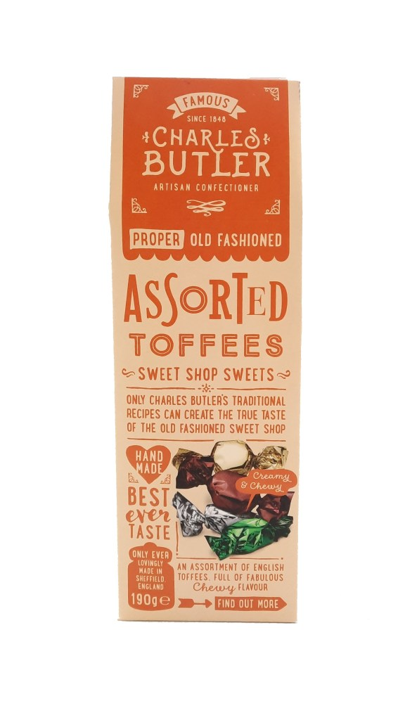 Charles Butler Assorted Toffee Box