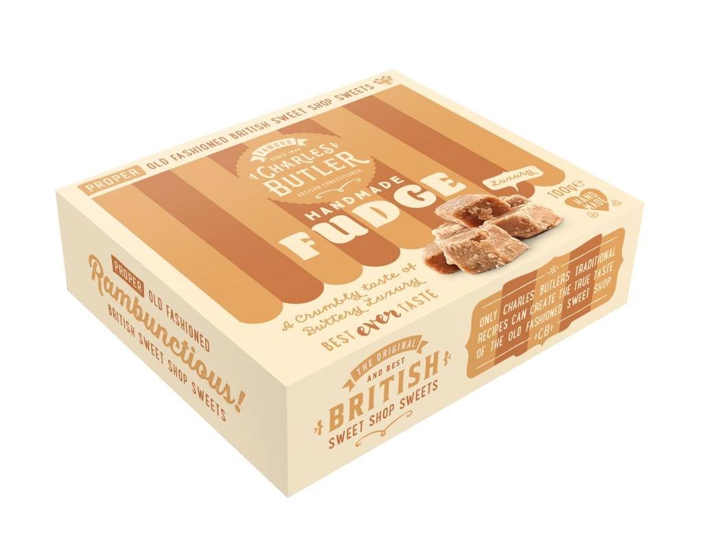 Charles Butler Handmade Fudge Box