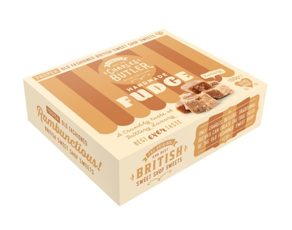 Charles Butler Handmade Fudge Box