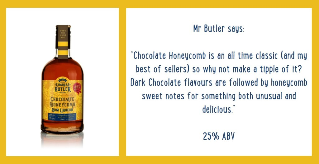 Charles Butler Chocolate Honeycomb Rum Liqueur Information