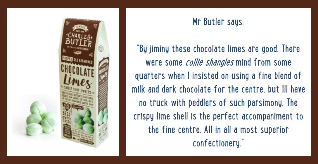 Charles Butler Chocolate Limes Information