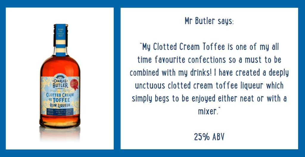 Charles Butler Clotted Cream Toffee Rum Liqueur Information