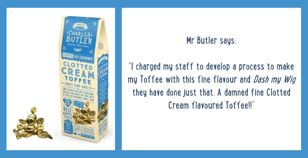 Charles Butler Clotted Cream Toffee Information