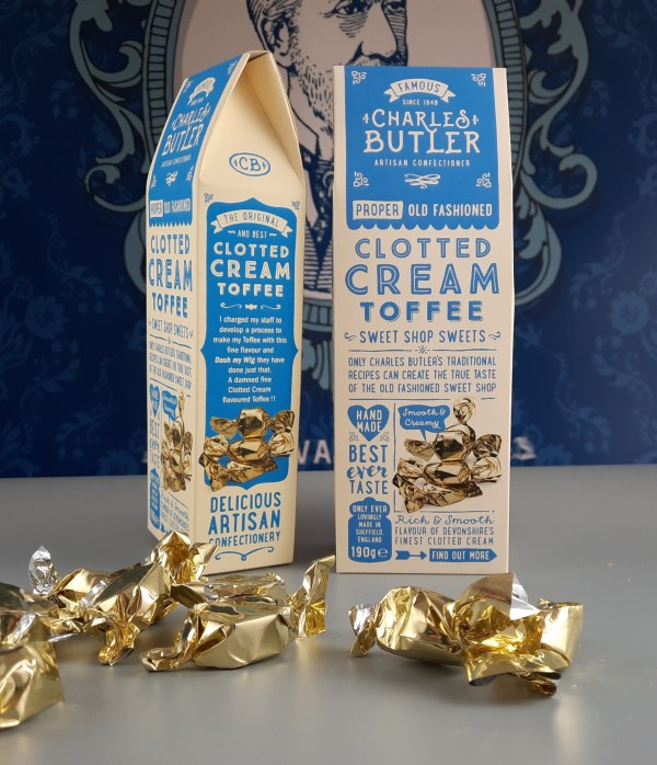 Charles Butler Clotted Cream Toffees 190g