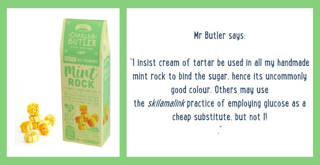 Charles Butler Mint Rock Information