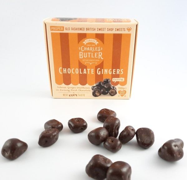 Charles Butler Chocolate Gingers Box with sweets
