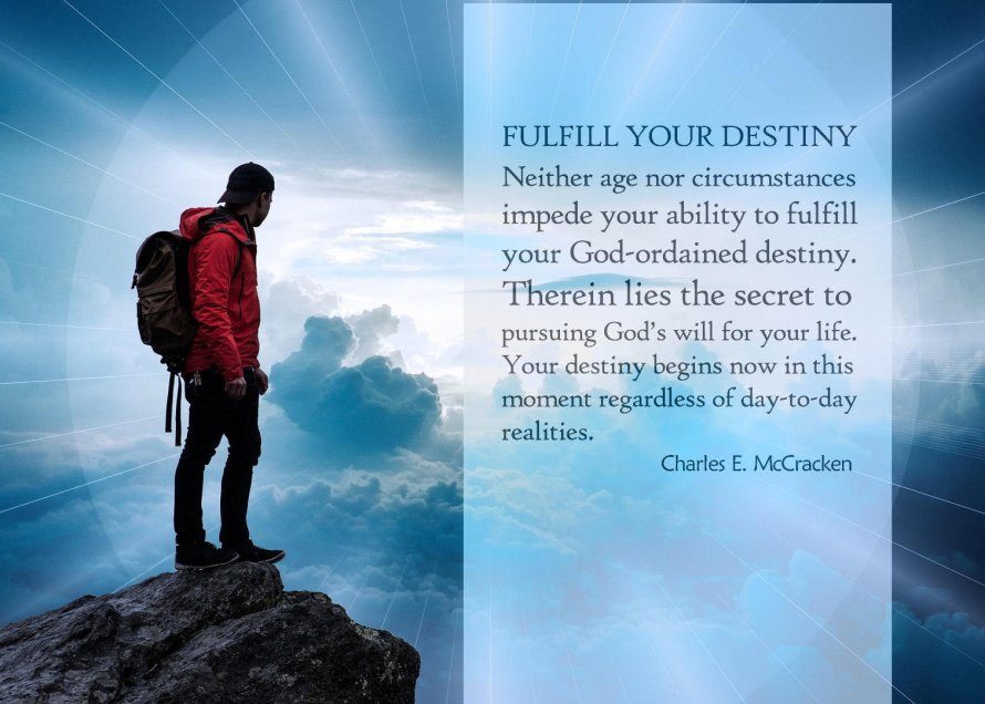 Fulfill Your God Ordained Destiny_1_5x7