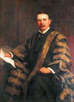 David Lloyd George, 1st Earl Lloyd-George of Dwyfor. (1910). By Christopher Williams.