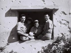 Defenders of Kibbutz Negba, Israel War of Independence, August 30, 1948. By Zoltan Kluger.