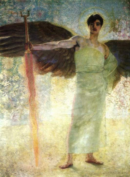3_Guardian of Paradise_By Franz von Stuck