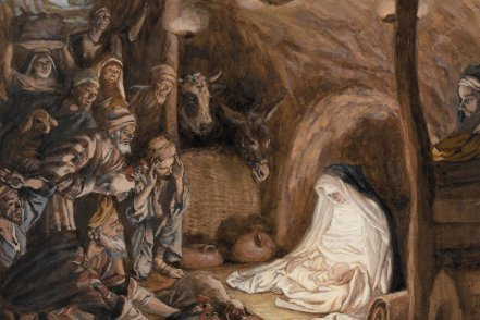 L'adoration des bergers_Tissot_4x6