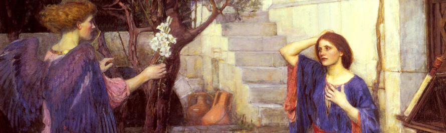 The Annunciation_William Waterhouse_banner