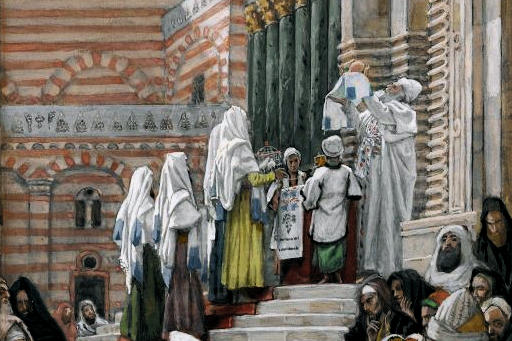 Detail: The Presentation of Jesus in the Temple_Tissot