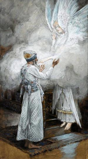 The Vision of Zacharias_Tissot