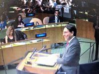 Ambassador Danny Danon, Permanent Representative of Israel to the United Nations.