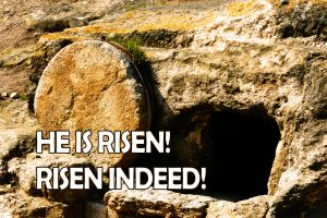2018 HE IS RISEN INDEED. © Charles E. McCracken