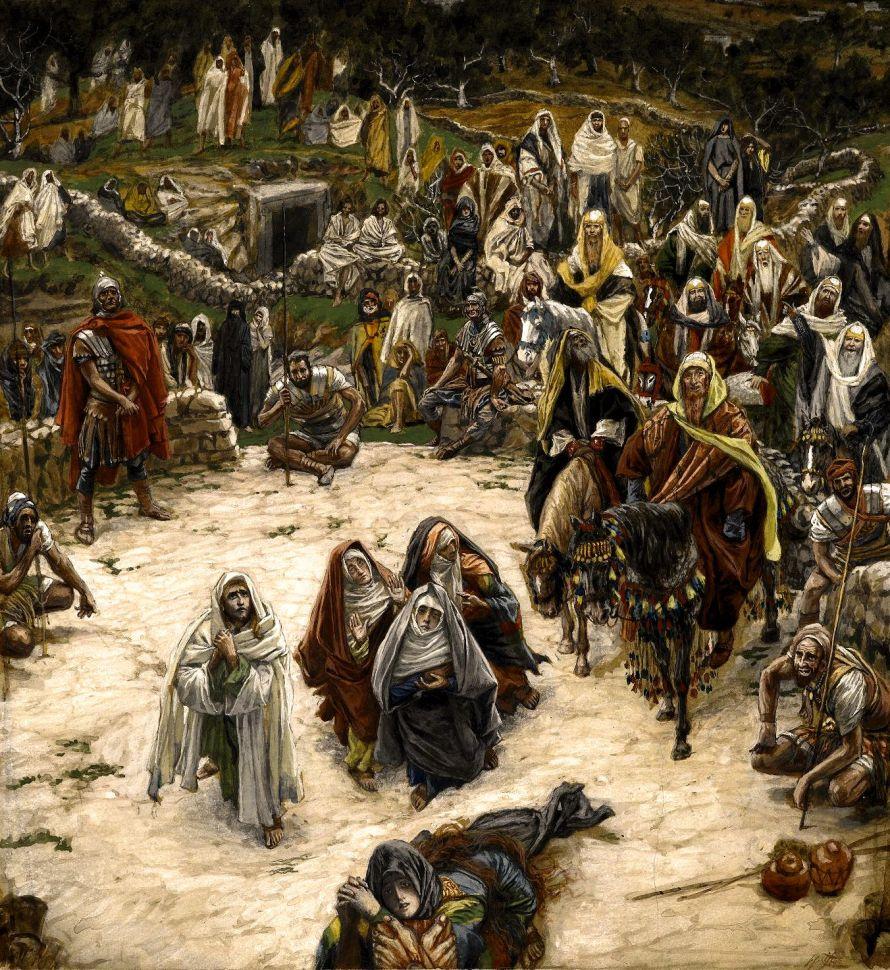 Ce que voyait Notre-Seigneur sur la Croix - What Our Lord Saw from the Cross.