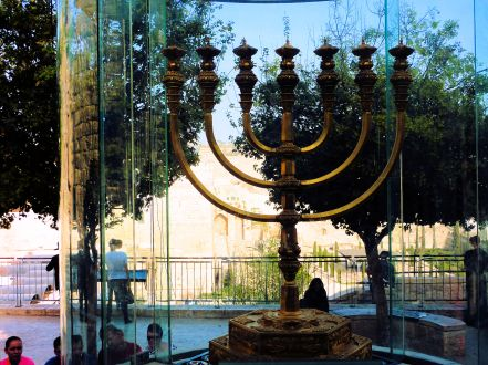2013_Temple Institute_Holy Menorah_Western Wall Plaza_2