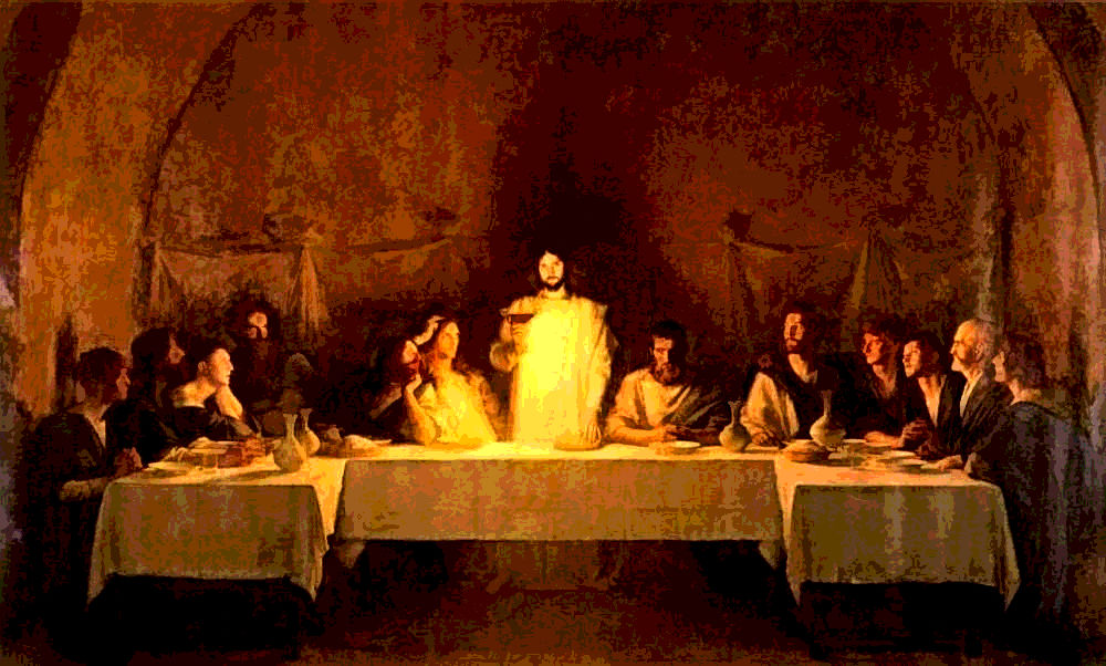 The Last Supper. By Pascal Dagnan-Bouveret.