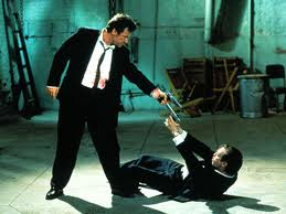 Reservoir Dogs stand off