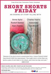 Short Shorts Friday - Charles Harris and Friends in a golden age for short stories - Friday April 26th