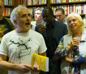Publishing a novel - Charles Harris at the launch of The Breaking of Liam Glass at West End Lane Books