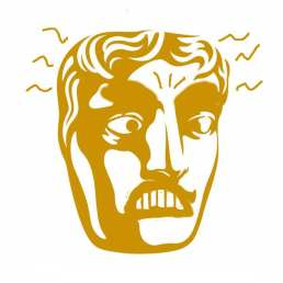 Angry Bafta mask - angry movies for this year's Baftas