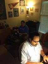 Proof that we do take breaks from cigars to write