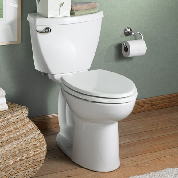 How To Install an American Standard Cadet 3 Toilet - No Tools Required
