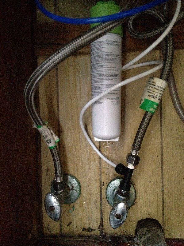 install-filter-under-sink