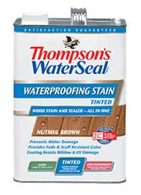 Thompson S Tinted Waterseal Waterproofing Stain