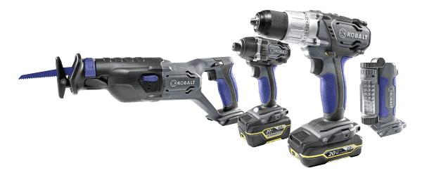 kobalt upgrades their 20v max power tool platform