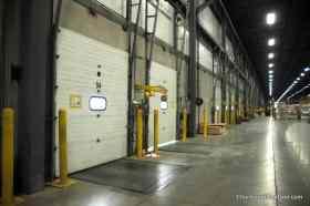 CDC truck bay