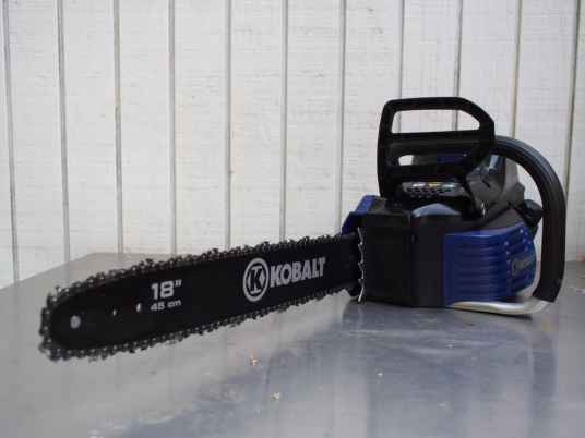 Lowe's 80V MAX - Chainsaw