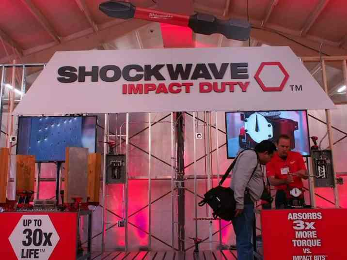 Shockwave Impact Bits