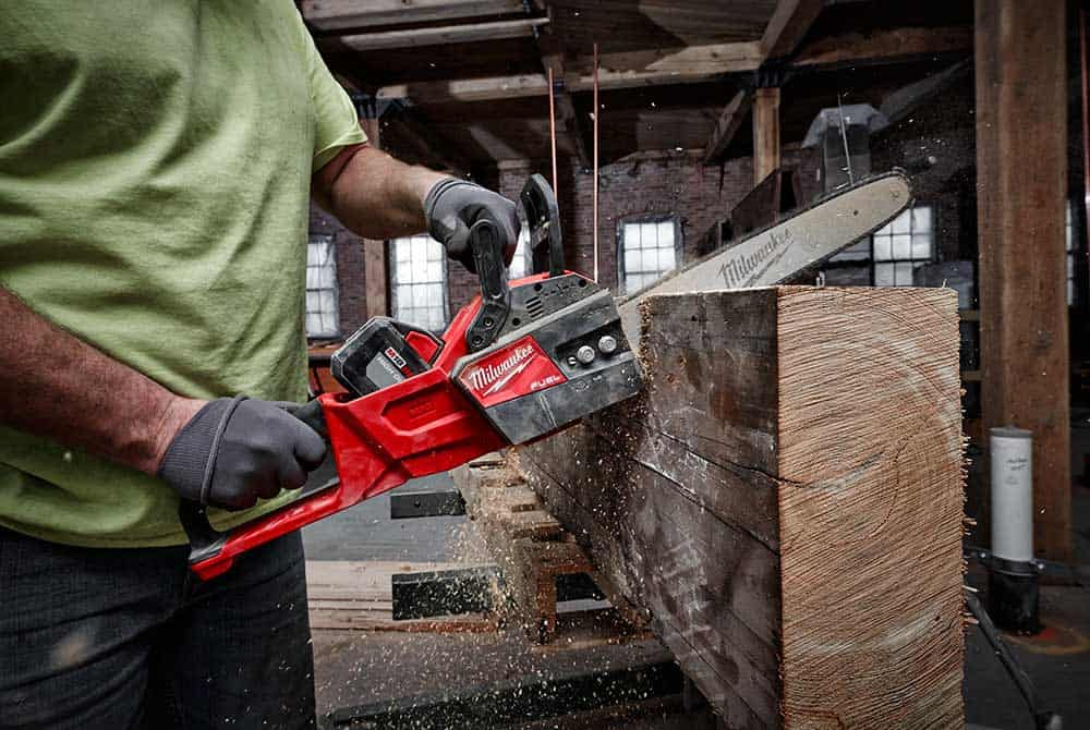 milwaukee tool chainsaw